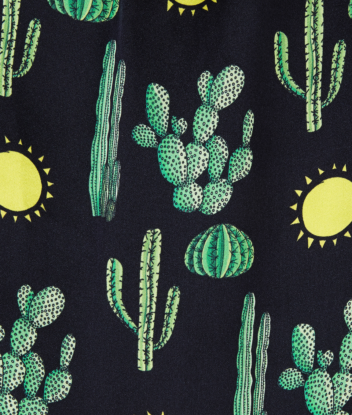 Black Cactus Angelica Dressing Gown