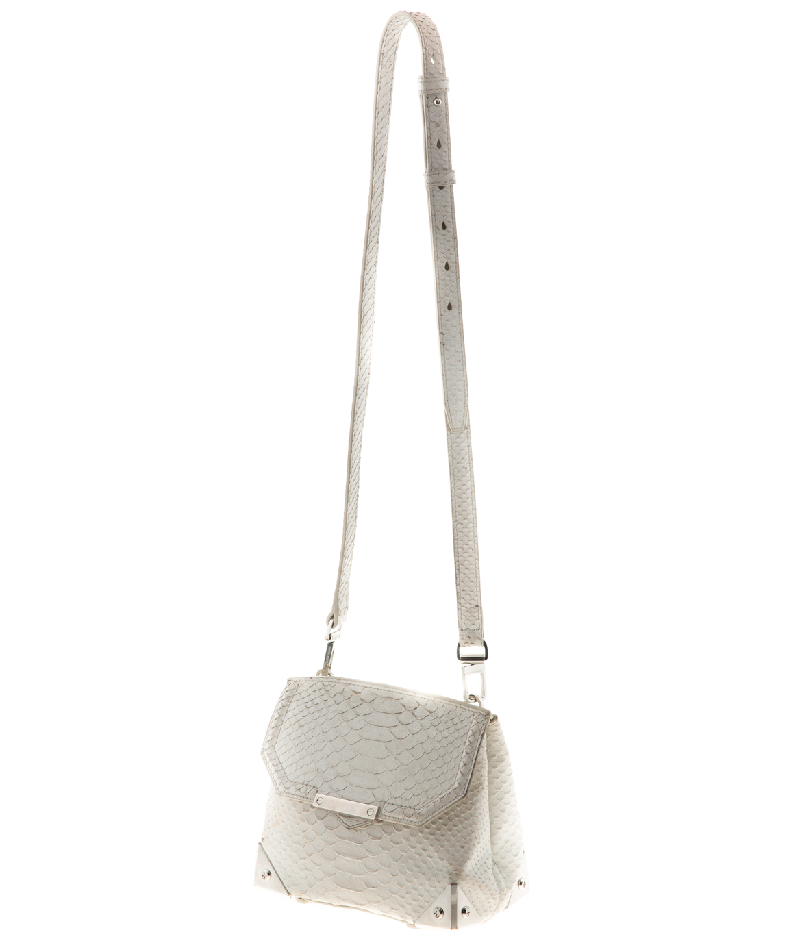 Crocodile Effect Crossbody Bag