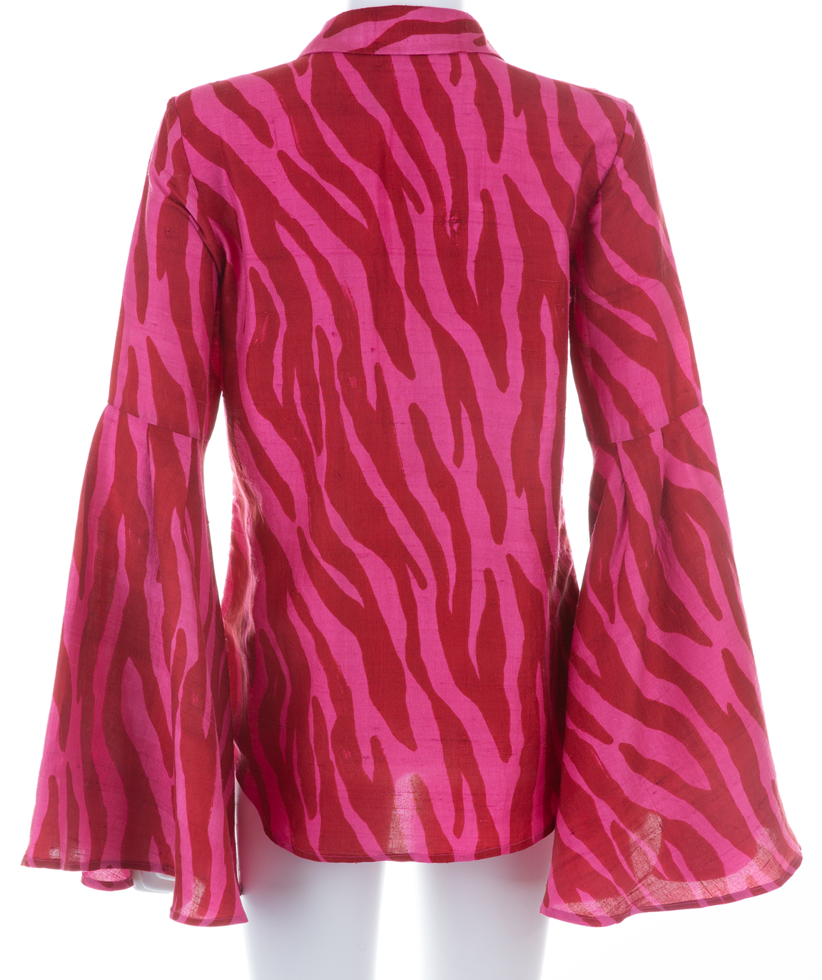 Pink & Red Show Blouse