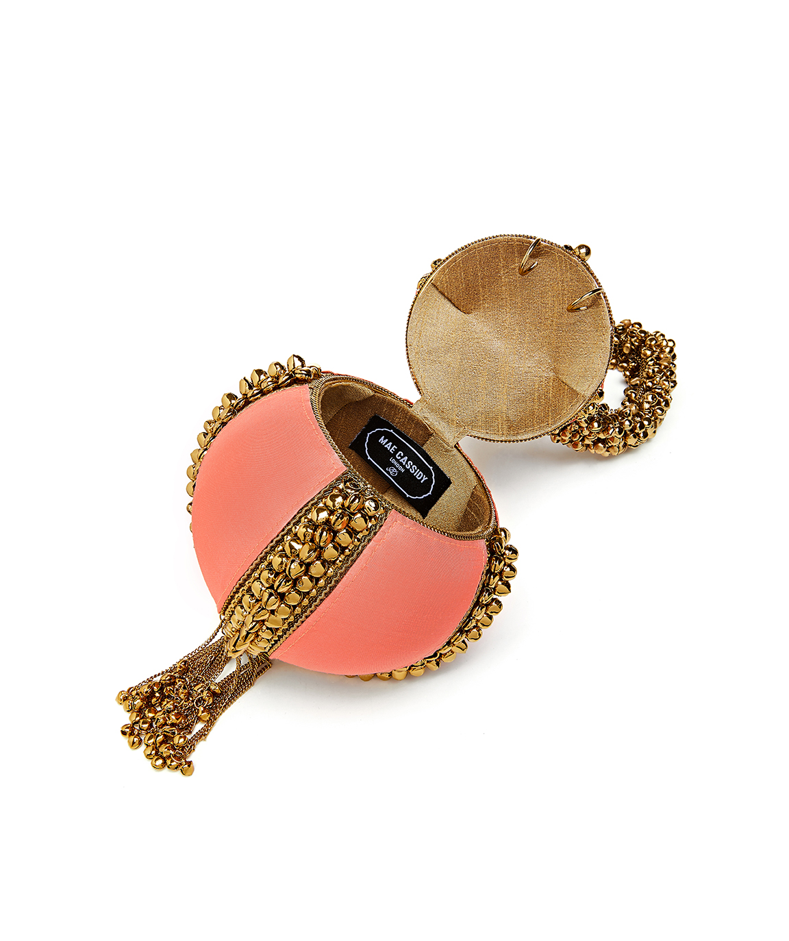 Babi Bracelet – Coral & Antique Gold