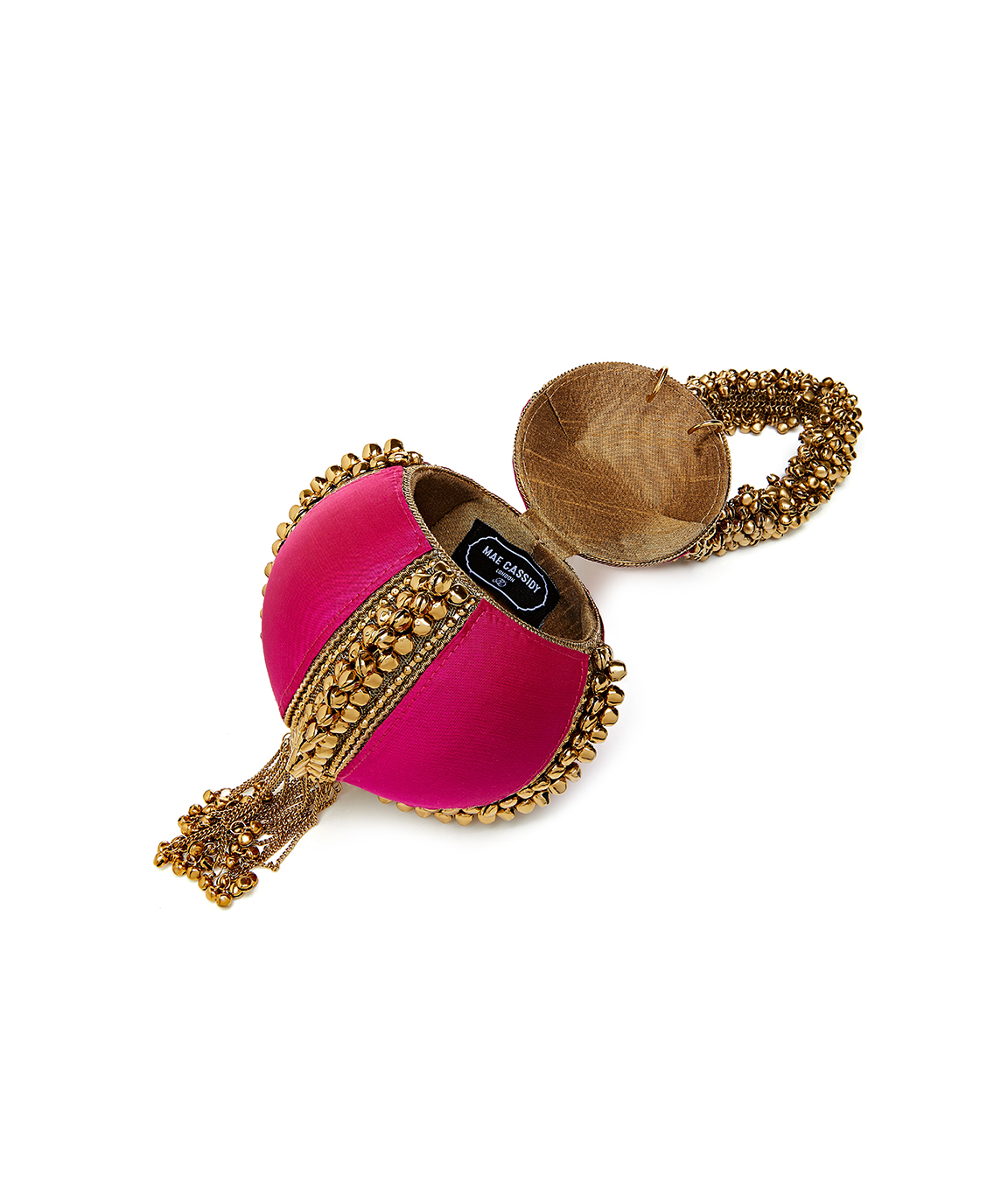 Babi Bracelet – Power Pink & Antique Gold