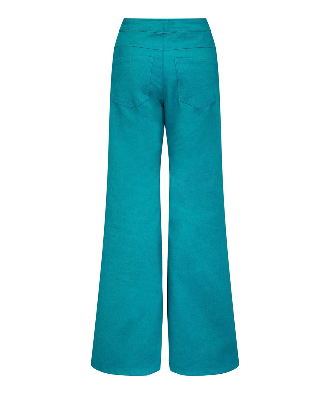 Humbug Wide Leg Jeans – Turquoise